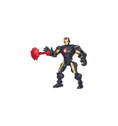 Super Hero character Iron Man Noir A6825E275/A6830 Hasbro- Futurartshop.com
