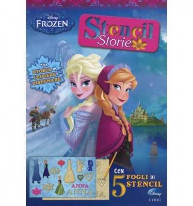 Frozen stencil book stories 8965WD Panini- Futurartshop.com