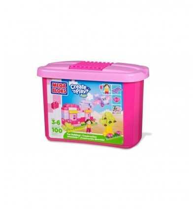 Contenedor mini ladrillos con rose 7549 Mega Bloks- Futurartshop.com