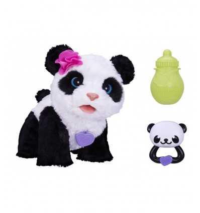 Fourrure véritable amis Pom Pom mon bébé Panda A7275EU40 Hasbro- Futurartshop.com