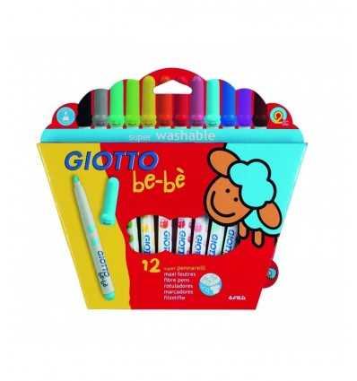 Pennarelli giotto bebè 12 colori 466700 Fila-Futurartshop.com