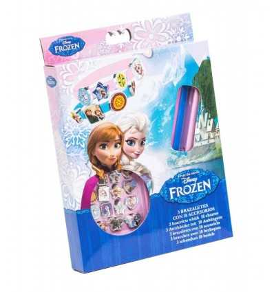 3 Armbänder Pack frozen WD92075 - Futurartshop.com