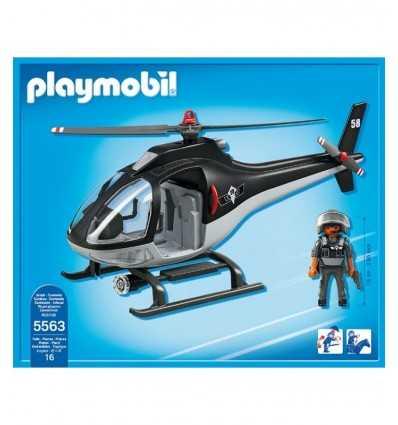 特別なチームのヘリコプター 5563 Playmobil- Futurartshop.com