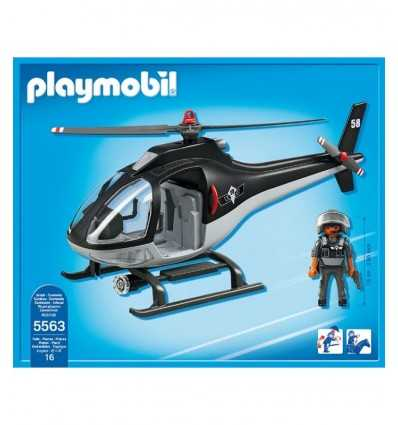 Special Team Helicopter 5563 Playmobil- Futurartshop.com
