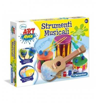 instruments de musique jeu art attaque 15969 Clementoni- Futurartshop.com