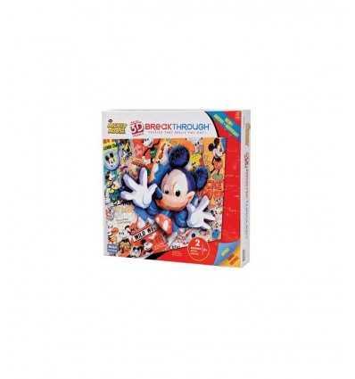 3D puzzle de Mickey Mouse 50711EDG227-1 Mega Bloks- Futurartshop.com