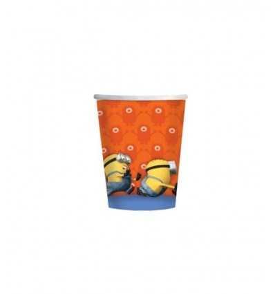 confezione 8 bicchieri cattivissimo me 7AM997972 New Bama Party-Futurartshop.com