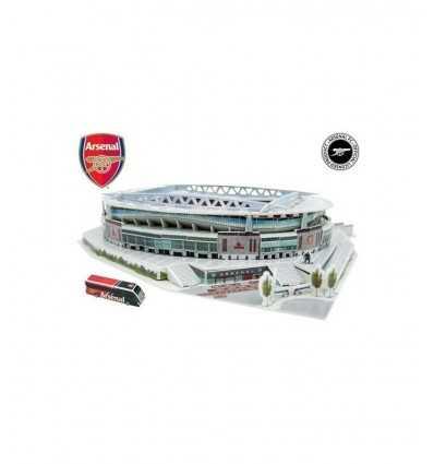 Emirates stadium rompecabezas 3D GPZ15134/3735 Giochi Preziosi- Futurartshop.com