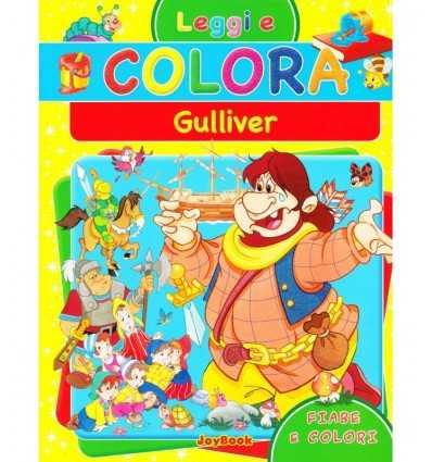album leggi e colora i viaggi di gulliver 9788861756205 -Futurartshop.com
