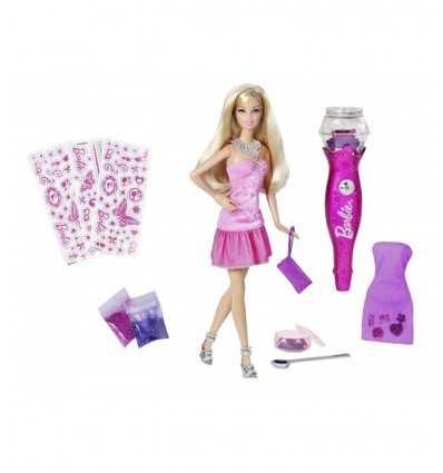 Barbie tyle brokat i naklejki V4594 Mattel- Futurartshop.com