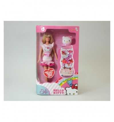 poupée de Steffi love hello kitty crée des bijoux 105737234009 Simba Toys- Futurartshop.com