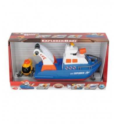 båt explorer med ljus och ljud 207268348 Simba Toys- Futurartshop.com