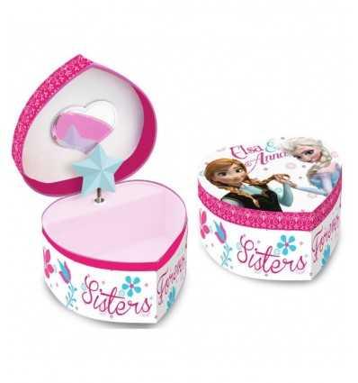 Carillon portagioie a cuore frozen futurartshop - Carillon portagioie bambina ...