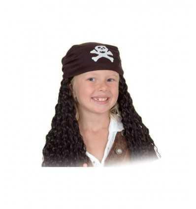 Pirate Kind Perücke mit Kopftuch 72077 Fiori Paolo- Futurartshop.com
