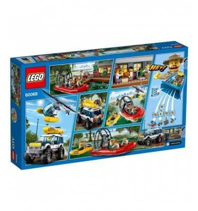 The police barracks in the swamp 60069 Lego- Futurartshop.com
