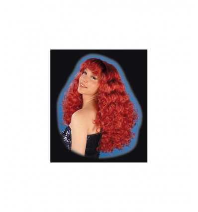 longitud peluca de color cobre 60 cm 5116 Nuova Rio- Futurartshop.com