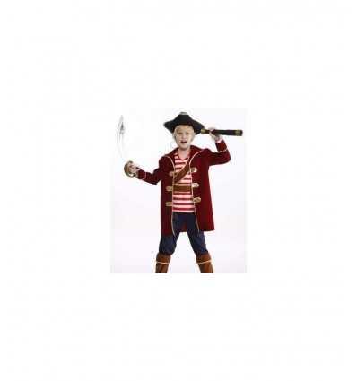 brave pirate Carnival costume 5-7 years 374178 Grandi giochi- Futurartshop.com