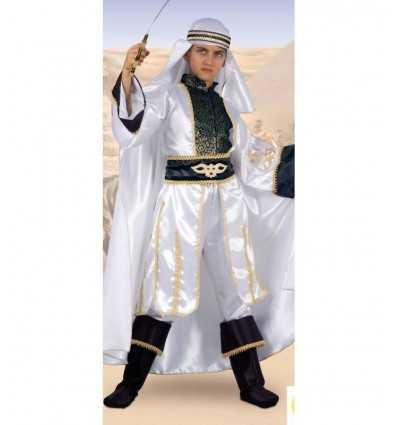 costume de carnaval de Sheikh du désert 9-11 ans 27512.9-11.B Fiori Paolo- Futurartshop.com