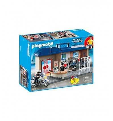 Портативный полицейский участок 5299 Playmobil- Futurartshop.com