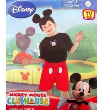 maskeraddräkt Mickey Mouse 5-6 år 03544 Dima- Futurartshop.com