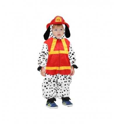 Carnival costume firefighter dog paw pawtrol 3-4 years 0688 Pegasus- Futurartshop.com
