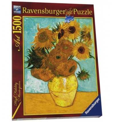 puzzle Van Gogh vase with sunflowers 16206 Ravensburger- Futurartshop.com