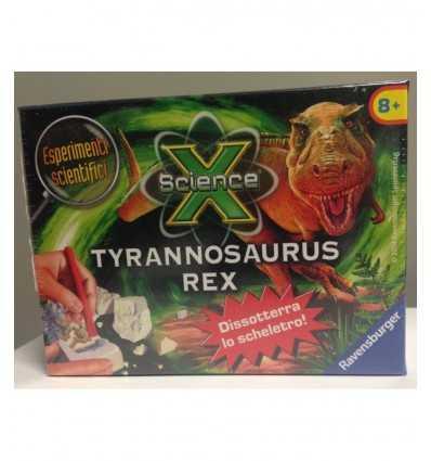 Tyrannosaurus dinosaurie vetenskap x 180417/TYR Ravensburger- Futurartshop.com