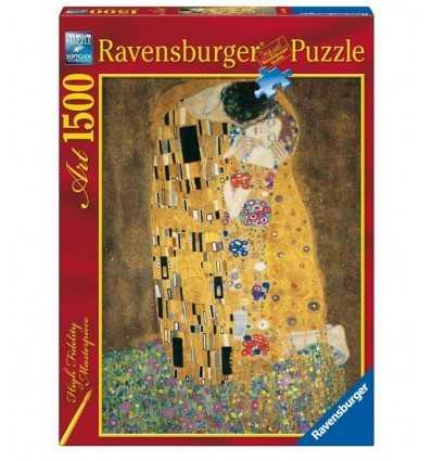 klimt Kiss 1500 pieces puzzle 16290 Ravensburger- Futurartshop.com