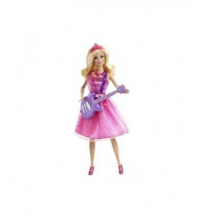 Barbie jako księżniczka i gwiazdy muzyki Pop X5126 Mattel- Futurartshop.com