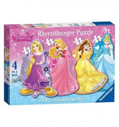 4 ディズニー プリンセス パズルします。 073986 Ravensburger- Futurartshop.com