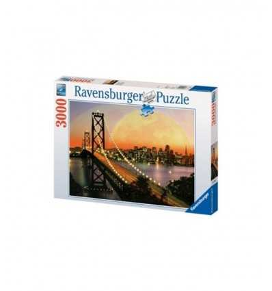 San Francisco night puzzle 3000 pieces 170395 Ravensburger- Futurartshop.com