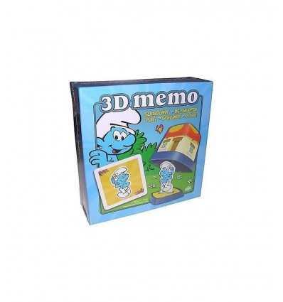 jeu de mémo 3D Schtroumpfs UD209644 Grandi giochi- Futurartshop.com