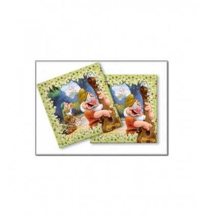 siedmiu karłów serwetki 33 X 33 cm EXT037SD Magic World Party- Futurartshop.com