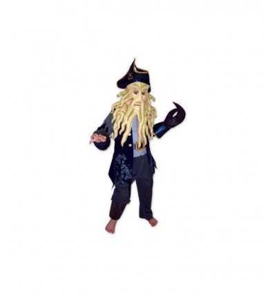 Costume de carnaval Davy Jones cristal 3-4 ans 060133 Dima- Futurartshop.com