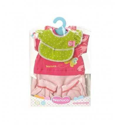 Pink und Fuchsia Anzug für 35 cm Nenuco 700011326/T17506 Famosa- Futurartshop.com