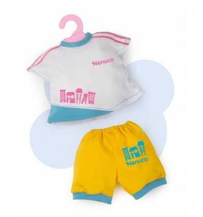 白いシャツと黄色のパンツの 35 センチ nenuco に 700011326/T17507 Famosa- Futurartshop.com
