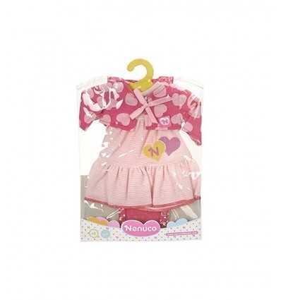 ubrana w różowy z Kamizelka dla nenuco 35 cm 700011326/T17508 Famosa- Futurartshop.com