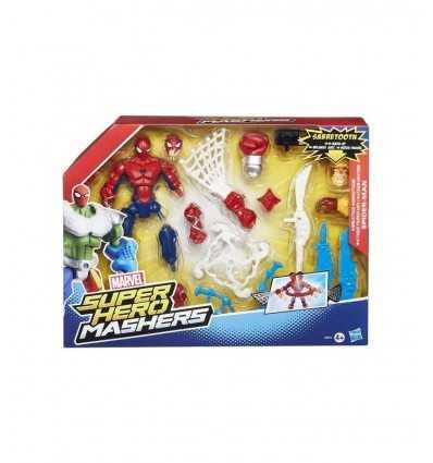 Marvel super hero karaktär mashers Spider man B0677EU40/B0679 Hasbro- Futurartshop.com