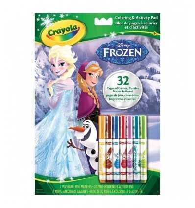 деятельность альбомы frozen 04-5900 Crayola- Futurartshop.com