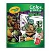Teenage Mutant ninja turtles Album lim och färger 045824 Crayola- Futurartshop.com