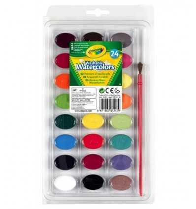 24 acuarelas lavabilissimi 53-0524 Crayola- Futurartshop.com