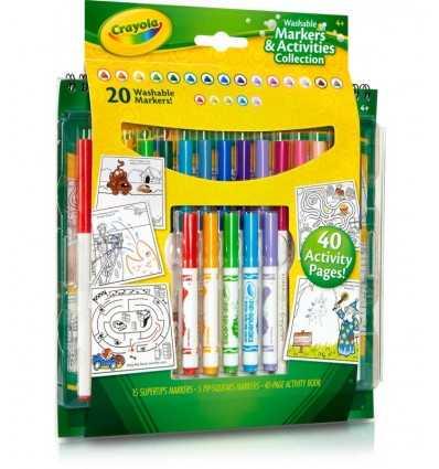 Satz von abwaschbaren Marker und 20 04-5715 Crayola- Futurartshop.com