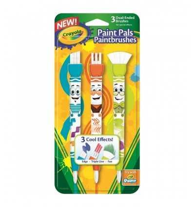3 szczotki pitturelli dwukrotnie funkcję 05-1061 Crayola- Futurartshop.com