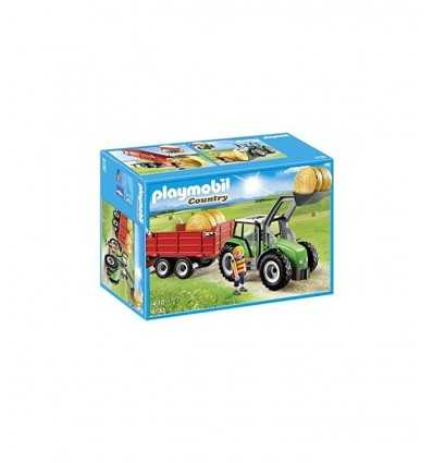 Tractor con remolque 6130 Playmobil- Futurartshop.com