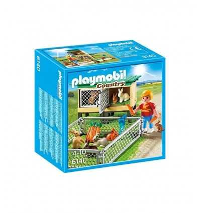 ・ ケージ ・ エンクロージャとウサギ 6140 Playmobil- Futurartshop.com