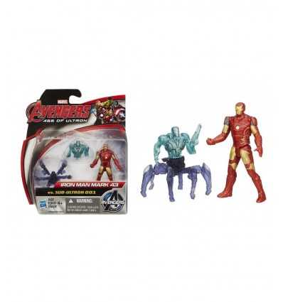 Avengers Iron Man Mark 43 Zeichen Vs sub Ultron 001 B0423EU40/B1482 Hasbro- Futurartshop.com