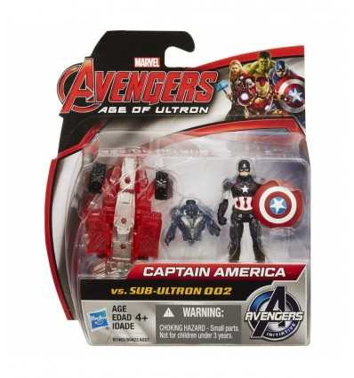 Avengers tecken Captain America vs Sub Ultron 002 B0423EU40/B1483 Hasbro- Futurartshop.com