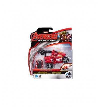 Мстители-Тор и железа человек персонажей с quad B0448EU40/B1501 Hasbro- Futurartshop.com