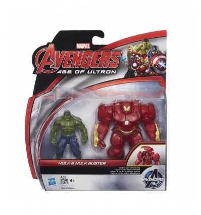 Buster Vengadores personajes Hulk vs Hulk B0448EU40/B1500 Hasbro- Futurartshop.com