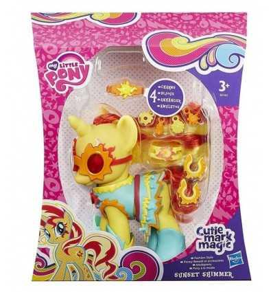 夕日の輝き私小さなのポニー ファッション ポニー B0360EU40/B0362 Hasbro- Futurartshop.com